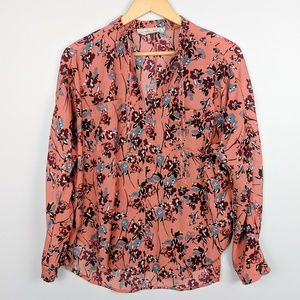 Abercrombie and Fitch Floral Print Top